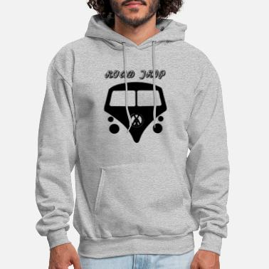 Headlights Road Trip - Road Trip - Men's Hoodie