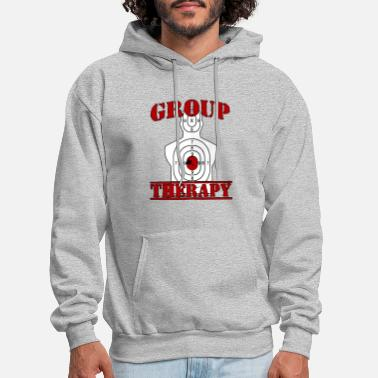 Guns Ammo Shooting Hunting Rifles Target Group Men - Men's Hoodie