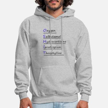 o shit shirt anesthesiologist funny - Men's Hoodie