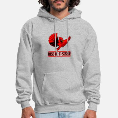 RISE UP T-SIZZLE - Men's Hoodie