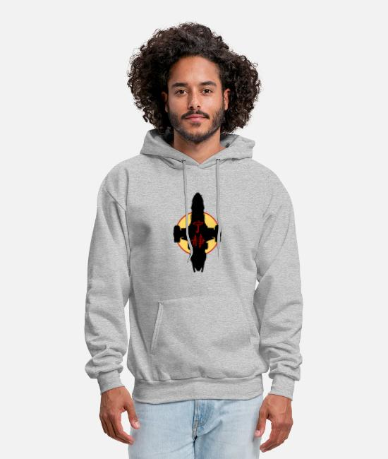 Space Hoodies & Sweatshirts - Serenity kanjiSerenity kanji Firefly - Men's Hoodie heather gray