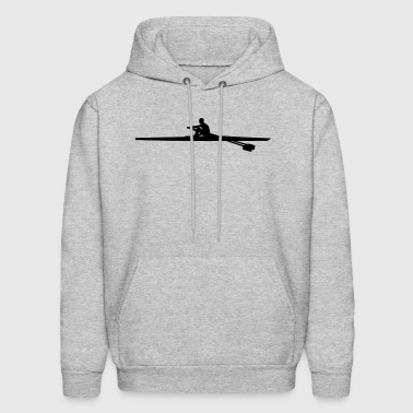 Rowing single - man - Men's Hoodie