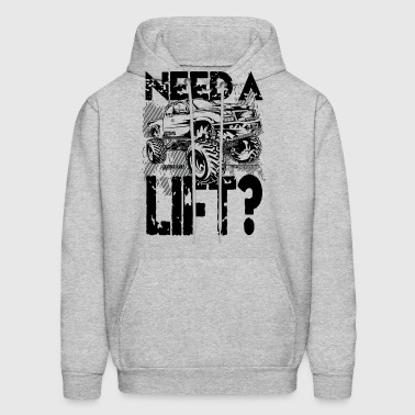 Truck Need a Lift - Men's Hoodie