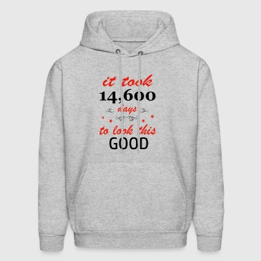 It took 40 years to get this awesome - Men's Hoodie