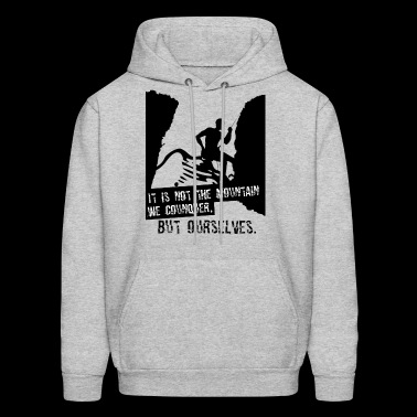 Conquer ourselves - Men's Hoodie