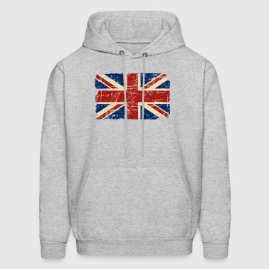 Union Jack Flag - Vintage Look - Men's Hoodie