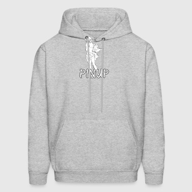 pinup_sexy_girl - Men's Hoodie