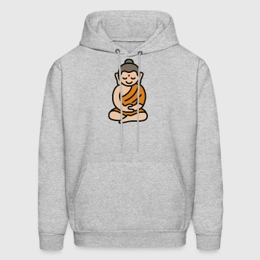 Buddha Cartoon - Men's Hoodie