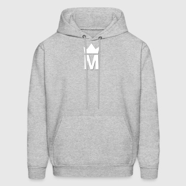 White Majesty Logo - Men's Hoodie
