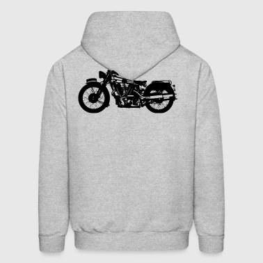 bikers-motosport-motorcycling-racing-rider-racing - Men's Hoodie