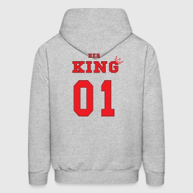Her KING' Red - Men's Hoodie