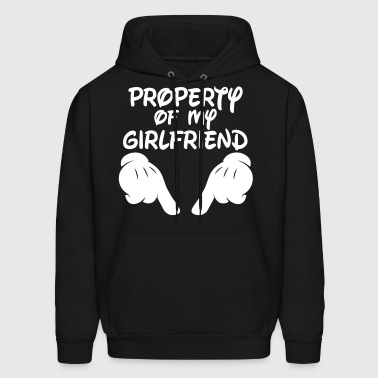 Property Of My Girlfriend - Men's Hoodie