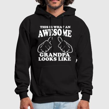 This is What an Awesome Grandpa Looks Like - Men's Hoodie
