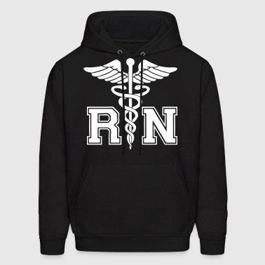 RN Registered Nurse - Men's Hoodie