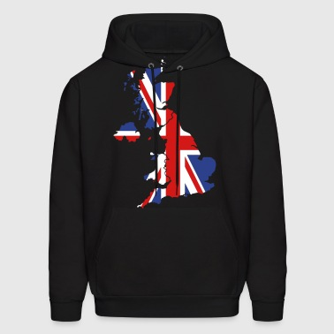 UK Flag - Men's Hoodie