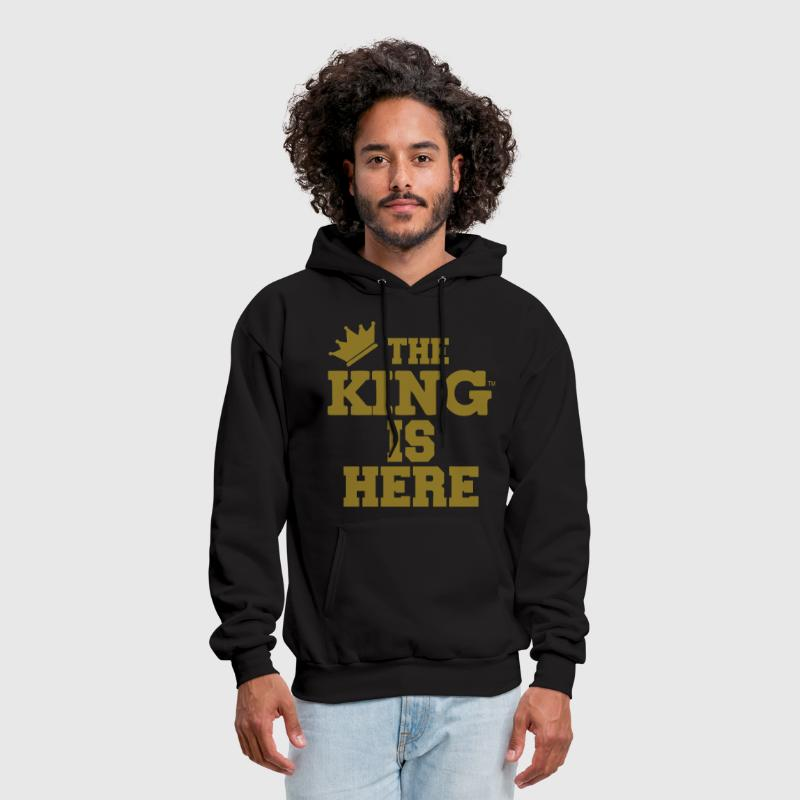 THE KING IS HERE - Men's Hoodie