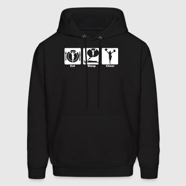 cheerleading eat sleep play 1 - Men's Hoodie