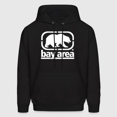bay_area_front Bear - Men's Hoodie