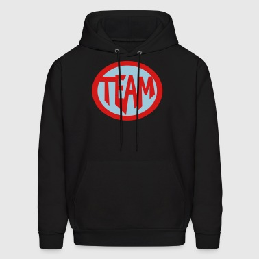 Super, Hero, Heroine, Super Team - Men's Hoodie