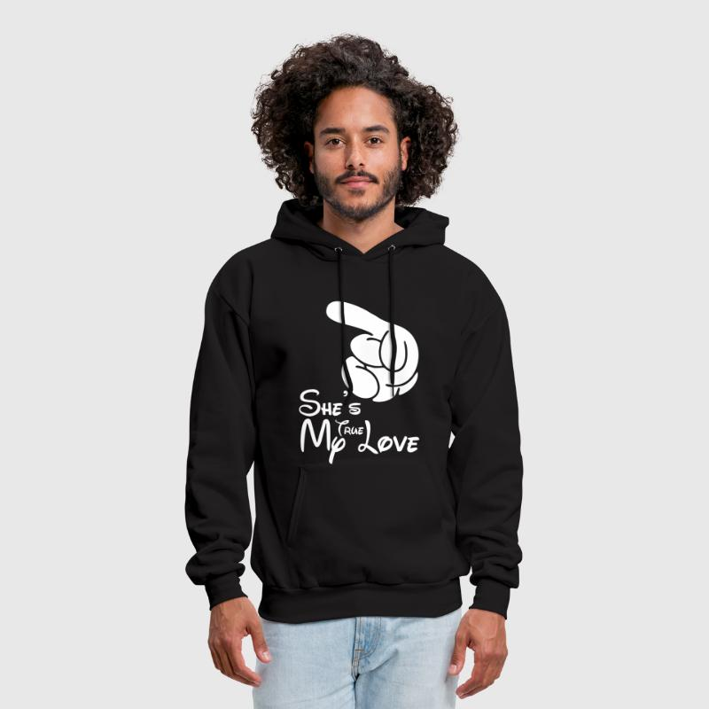 She's My True Love - Men's Hoodie