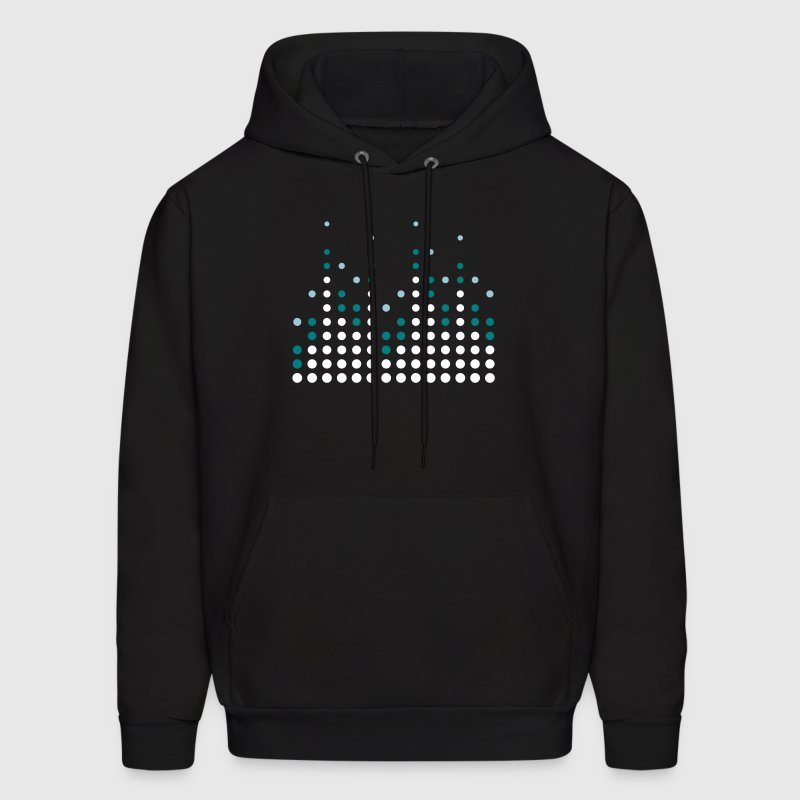 Music Equalizer - Men's Hoodie