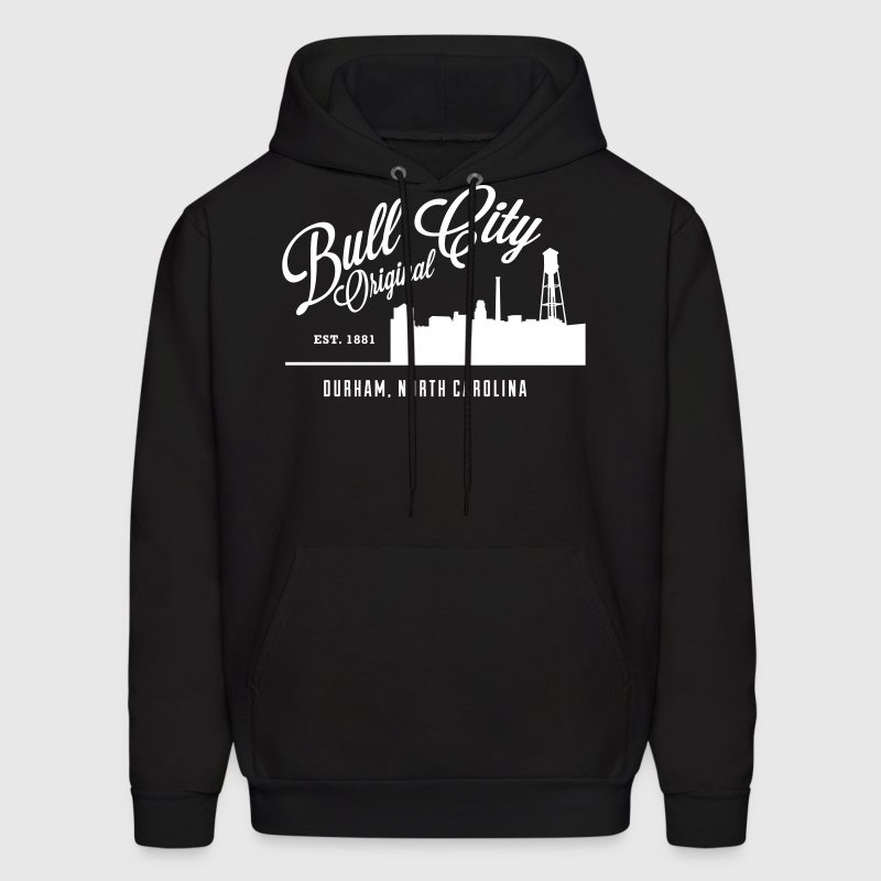 Bull City Original Skyline - Men's Hoodie