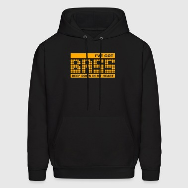 Bass in my Heart - Men's Hoodie