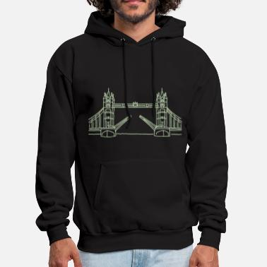 Tower Bridge London Tower Bridge - Men's Hoodie
