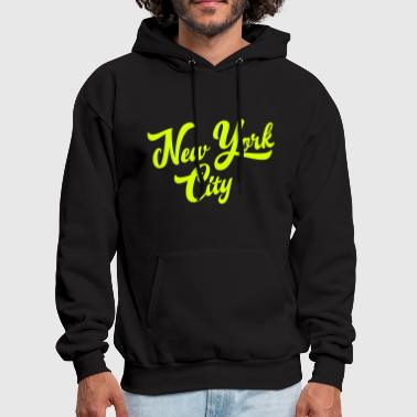 New York Handwritting - Men's Hoodie
