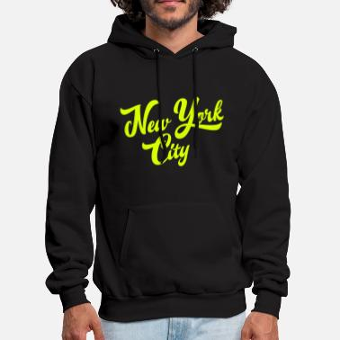 Handwriting New York Handwritting - Men's Hoodie