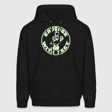 Sausage with feet - Men's Hoodie