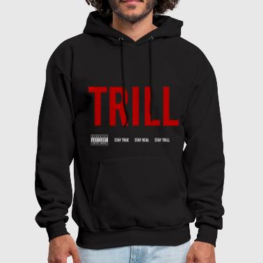 Dope TRILL - Hooded Sweatshirt (White) - Men's Hoodie