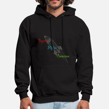 Conscious Into The Higher Conscious - Men's Hoodie