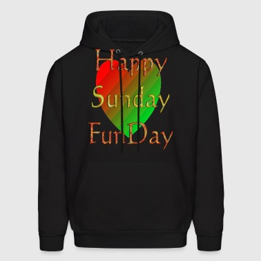Happy Sunday Funday | Selfie Sunday - Men's Hoodie
