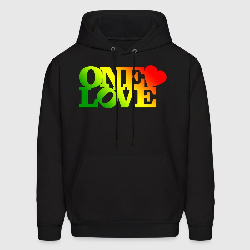 One Love Rasta - Men's Hoodie