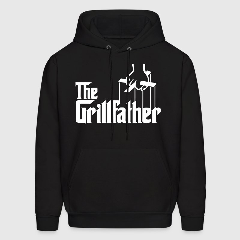 The Grillfather - Men's Hoodie