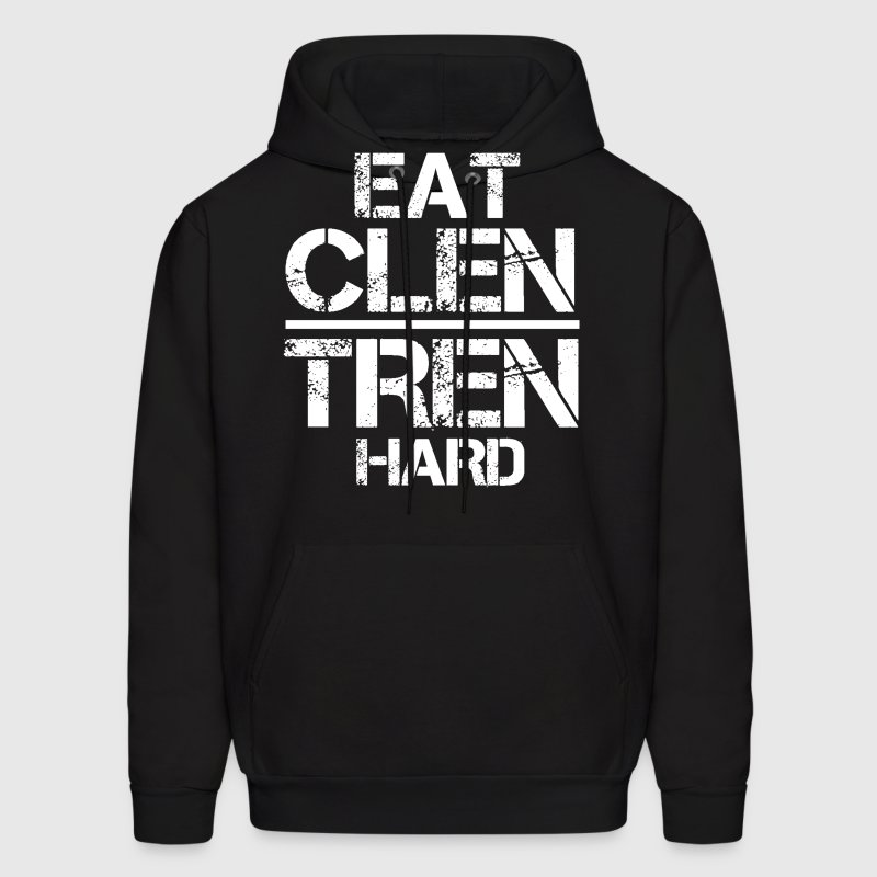 Eat Clen Tren Hard mp T-Shirts - Men's Hoodie