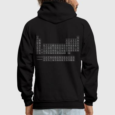 Periodic Table of Elements - Men's Hoodie
