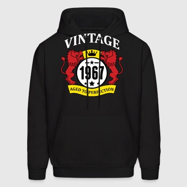 Vintage 1967 Aged to Perfection - Men's Hoodie