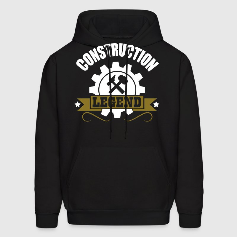 construction legend - Men's Hoodie