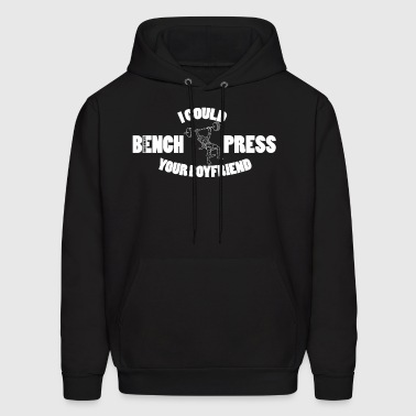 Bench Press (2) - Men's Hoodie