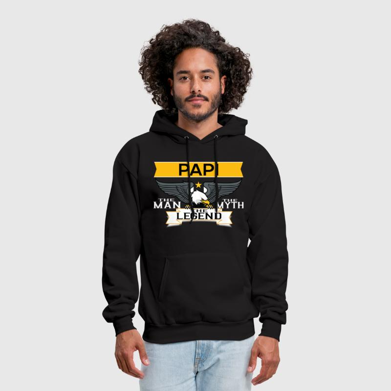 Papi The Man The Myth The Legend - Men's Hoodie