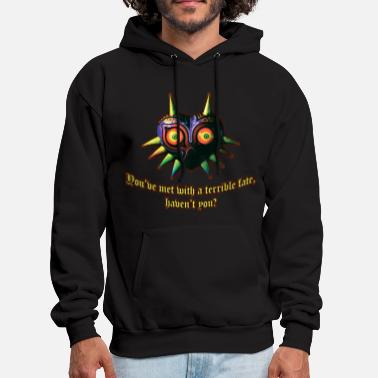 Mask A Terrible Fate - Men's Hoodie