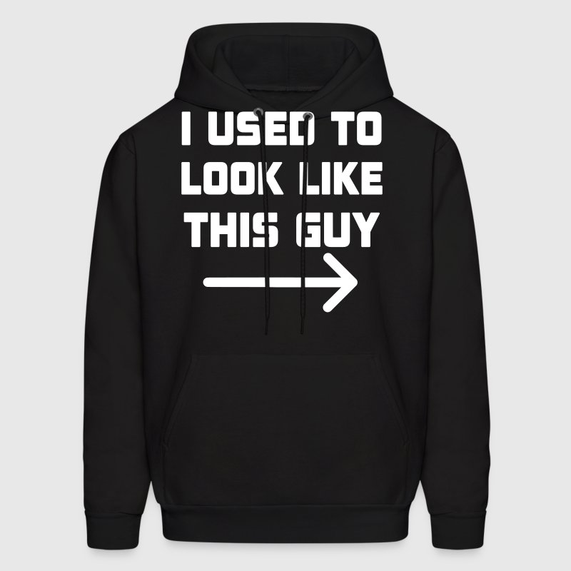 I Used To Look Like This Guy - Men's Hoodie