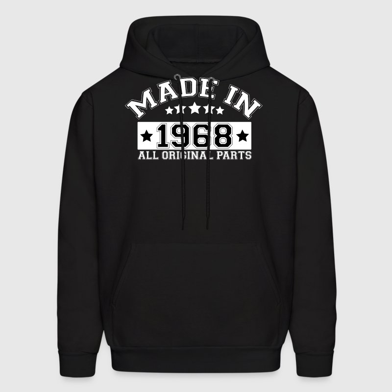 MADE IN 1968 ALL ORIGINAL PARTS - Men's Hoodie