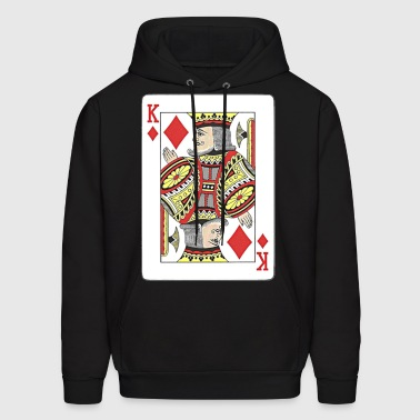 King of diamonds. - Men's Hoodie