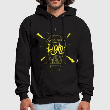 Jurassic Light Of The World - Men's Hoodie