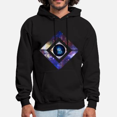 Cool Art Center of Existence - Men's Hoodie