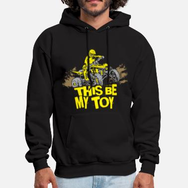 Quad ATV Quad My Toy Rider - Men's Hoodie