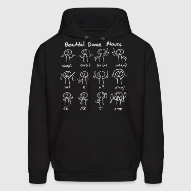 Beautiful Math Dance Moves - Men's Hoodie